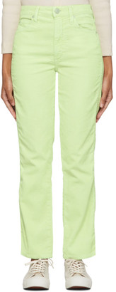 Amo Green Corduroy Bella Trousers