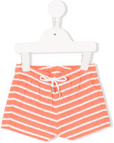 Knot - nautical stripes swim shorts - kids - Cotton/Polyester - 6 mth