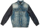 R 13 Layered Denim Jacket