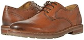 Florsheim Estabrook Plain Toe Oxford (Cognac Milled) Men's Plain Toe Shoes