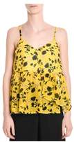 Suoli Women's Yellow Cotton Tank Top.