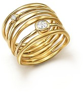Ippolita 18K Yellow Gold Glamazon® Stardust Movie Star Ring with Diamonds