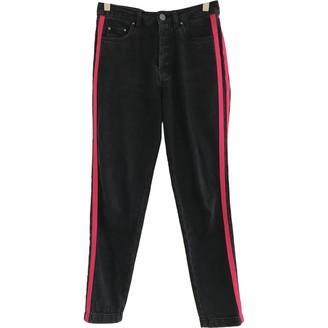 Gestuz Black Cotton Jeans