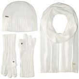 Calvin Klein Three-Piece Set - Hat, Scarf, Flip Tip Gloves