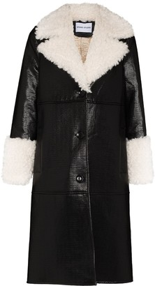 Stand Studio Linda faux-leather coat
