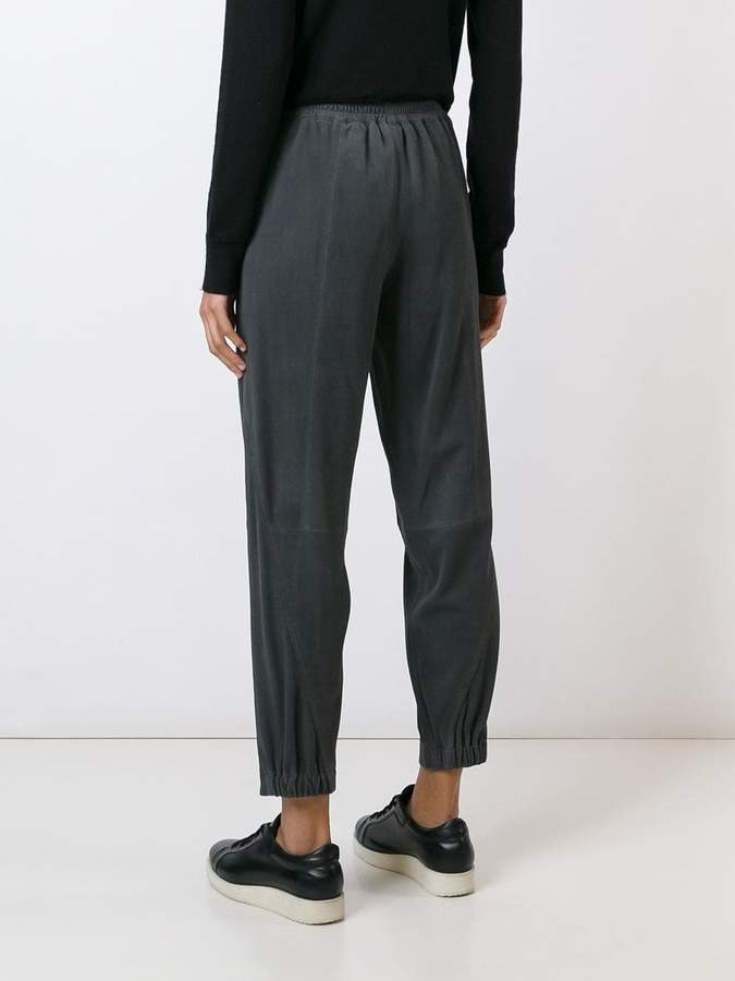Steffen Schraut tapered cropped trousers