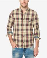 Buffalo David Bitton Men's Stretch Plaid Shirt