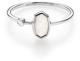Kendra Scott Chastain Ring in 14k White Gold
