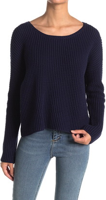 Line Raquel Boatneck Pullover Sweater