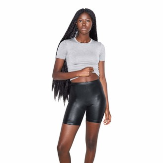 American Apparel Women's Metallic-Bike Short