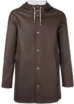 Stutterheim 'Stockholm' coat - unisex - Cotton/Polyester/PVC - M