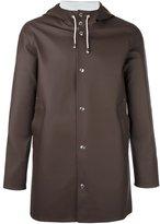 Stutterheim 'Stockholm' coat - unisex - Cotton/Polyester/PVC - S