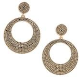 BaubleBar Women's Octavia Hoop Earrings