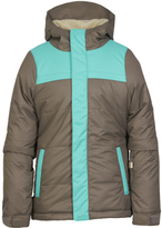 686 Tobacco Color Block Ella Insulated Jacket - Girls