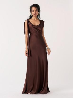 Diane von Furstenberg Sia Satin Gown