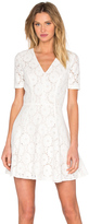 1 STATE Lace Flare Dress