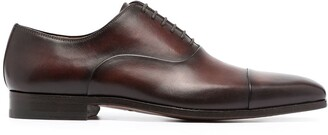 Magnanni Caoba distressed oxford shoes