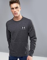 Under Armour Triblend Technical Sweat In Black
