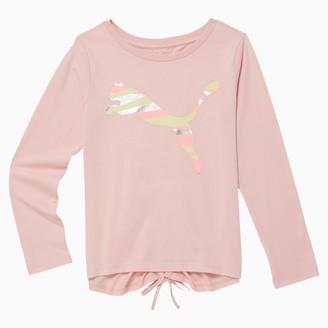 Puma No.1 Logo Girls' Long Sleeve Fashion Top JR