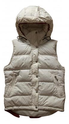 Peak Performance White Leather Coats