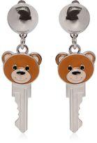 Moschino Key Teddy Bear Earrings