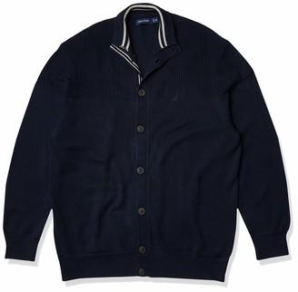 Nautica Men's Classic Fit Novelty Knit Cardigan