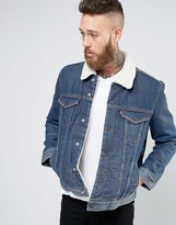 Levis Type 3 Sherpa Trucker Jacket Lucky Town