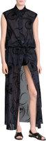 Agnona Embroidered Maxi Dress