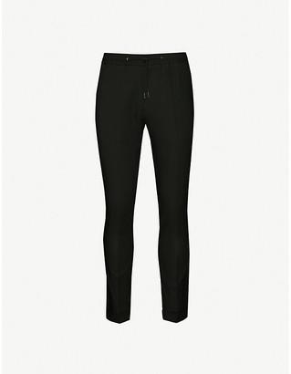 Paul Smith Drawstring-waistband wool trousers