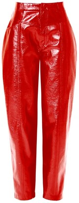Aggi Pants Madison High Risk Red