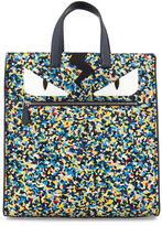 Fendi Monster Eyes Confetti-Print Nylon Tote Bag