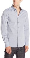 Kenneth Cole Reaction Men's Ls Drsy Bdc Slim