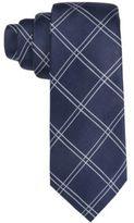 Tasso Elba Men's Textured Grid Slim Tie, Created for Macy's