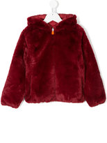 Save The Duck Kids reversible fur padded jacket