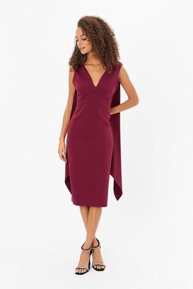 Coast Drape Back Midi Dress