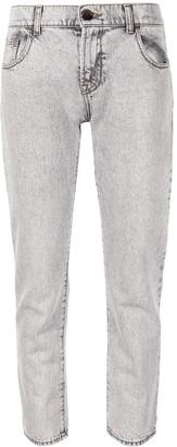 Emporio Armani mid-rise straight leg jeans