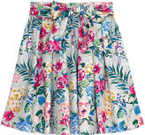 Cath Kidston Tropical Garden Cotton Sateen Skirt