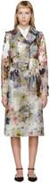 Erdem Multicolor Vinyl Charlotta Trench Coat