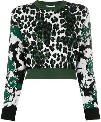 Kenzo Leopard Intarsia Jumper