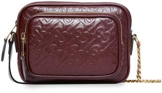 Burberry monogram leather camera bag