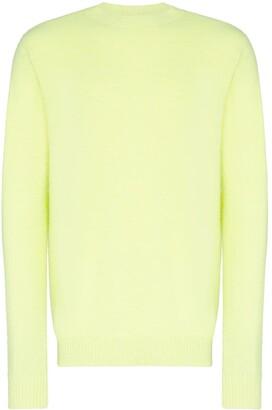 The Elder Statesman Simple crew-neck cashmere jumper