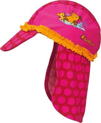 Playshoes DIE MAUS Girl's UV-Schutz Mutze DIE MAUS Punkte Cap