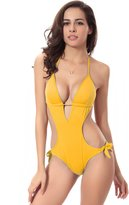JOYHY Women's Sexy Halter One-piece Swimsuit