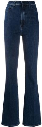 J Brand High-Waisted Bootcut Jeans
