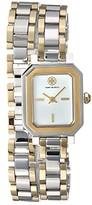 Tory Burch Robinson Mini Double Wrap Bracelet Watch (Two-Tone - TBW1507) Watches