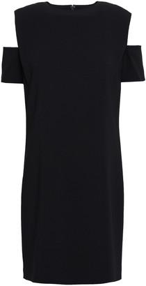 Helmut Lang Cold-shoulder Woven Mini Dress