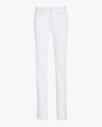 Rag & Bone Cate Low-Rise Cut-Off Flare Jeans
