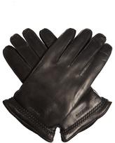 Giorgio Armani Leather And Suede Gloves