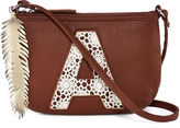 Asstd National Brand OMG Accessories Crossbody Bag with Crocheted Initials - Girls