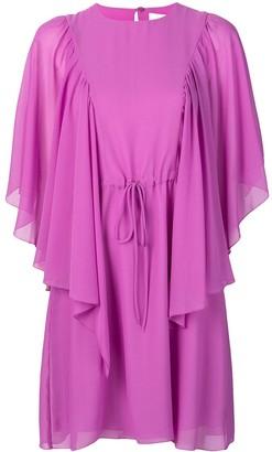 See by Chloe flared sleeves dress